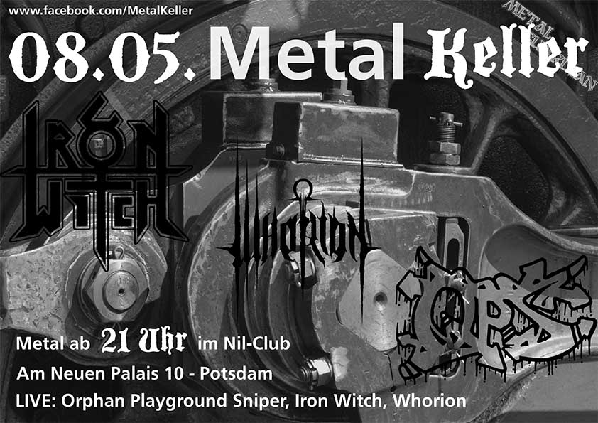 Metal Keller Mai