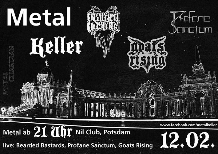 Metal Keller Februar