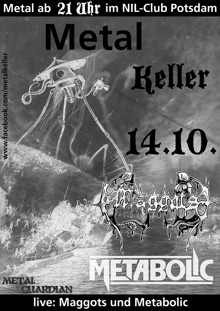 Metal Keller im Nil Klub